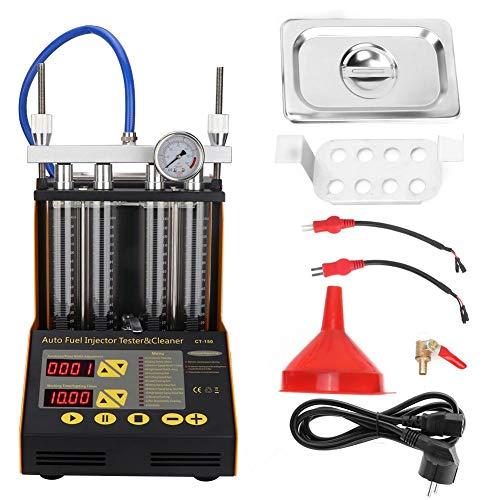 Dispositivo di Pulizia ad Ultrasuoni CT150 Del Dispositivo di Iniezione Del Sistema di Alimentazione Del Motore a Benzina Per Auto, 70W 220V, 0-7500r / min(EU Plug)