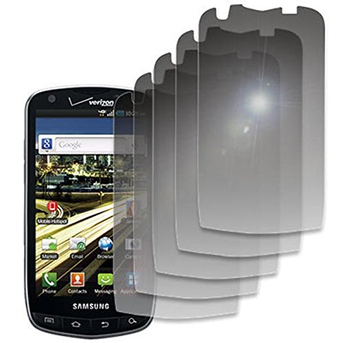 EMPIRE 5 Pack of Mirror Screen Protectors for Verizon Samsung Droid Charge