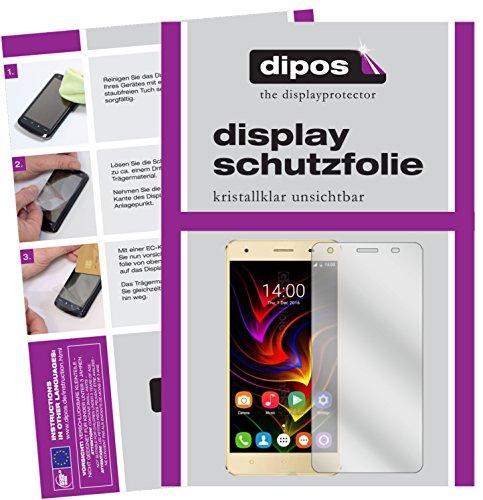 dipos I 6X Schutzfolie klar passend für Oukitel C5 Pro Folie Bildschirmschutzfolie