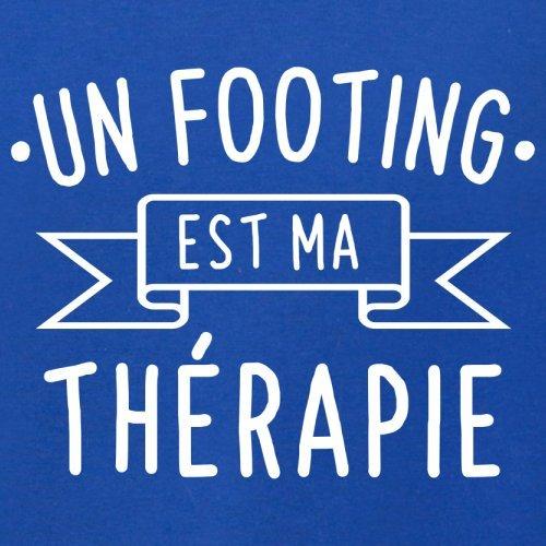 un footing est ma thérapie - Femme T-Shirt - 14 couleur Bleu Royal