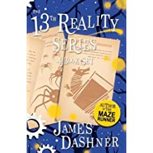 The 13th Reality Series 4 Book Set (Journal of Curious Letters, Hunt for Dark Infinity, Blade of Shattered Hope, Void of Mist and Thunder)