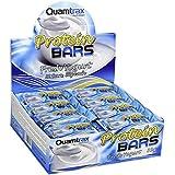 Quamtrax Nutrition Caja Protein Bars, Sabor de Yogurt - 32 Barritas