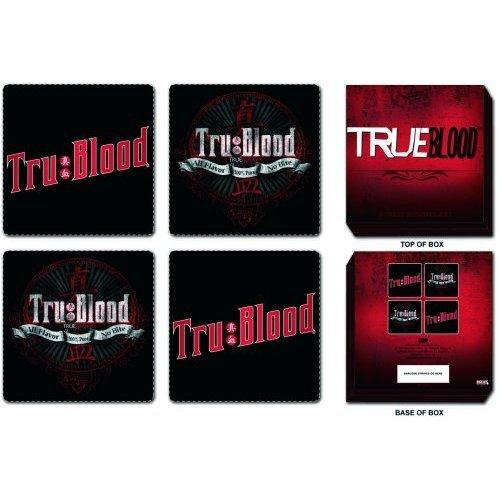 True Blood Coaster Set: 4 Piece in Presentation Bo