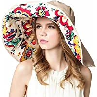 Christoopher Big Along The Beach Sun In Summer Sombrero al Aire Libre Plegable Anti-UV