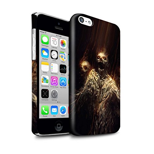 Offiziell Chris Cold Hülle / Glanz Snap-On Case für Apple iPhone 5C / Kriegsheld/Warlock Muster / Dämonisches Tier Kollektion Ghouls der Furcht