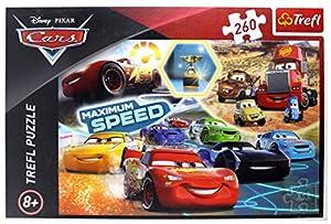TREFL 5900511132397 Puzzle Puzzle - Rompecabezas (Puzzle Rompecabezas, Dibujos, Niños, Cars 3, Niño/niña, 8 año(s))