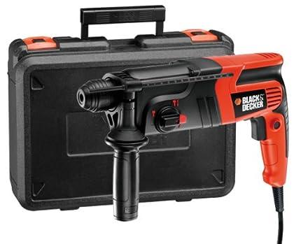 Black & Decker KD855KA 550W SDS Plus rotary hammers - Martillo perforador (SDS Plus, 2 cm, 1,6 J, 1,3 cm, 3 cm, 550 W)