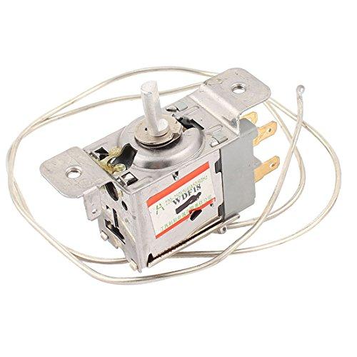 Sourcingmap® WDF18 3-polige Terminals 65 cm Metallkabel Gefrierschrank Thermostat (Cm Kühlschrank 65)