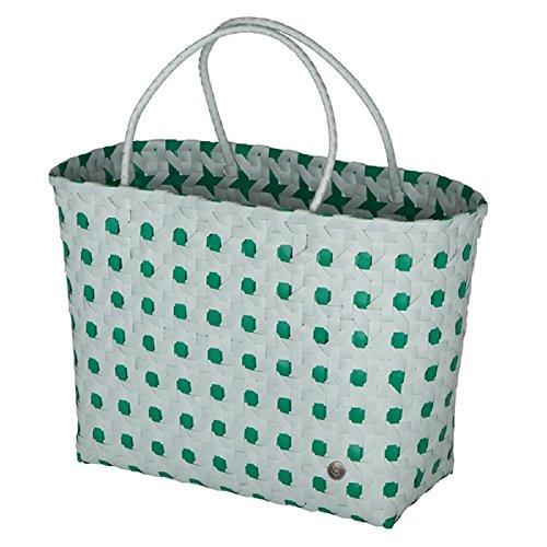 Handed By Polka Dot Greyish Green/Blue Green x 36 x 40 x 17 cm [A] (Polka Dot Korb)