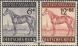 Prophila Collection Deutsches Reich 857-858 (kompl.Ausg.) 1943 Großer Preis von Wien, Pferde (Briefmarken für Sammler)