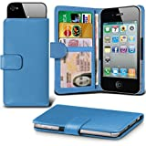 i-Tronixs (Baby Blue +Earphones 145 x73) case for Medion