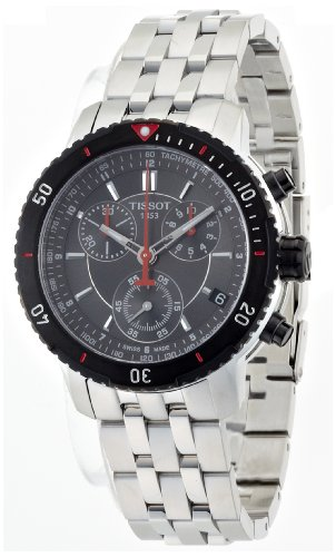 Tissot T0674172105100, Men's Prs 200 Watch, Black/Silver