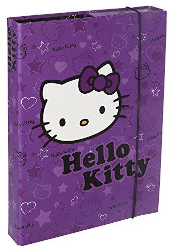 Scooli HKYX7252 Sporttasche Hello Kitty, ca. 35 x 16 x 24 cm Heftbox A4, lila