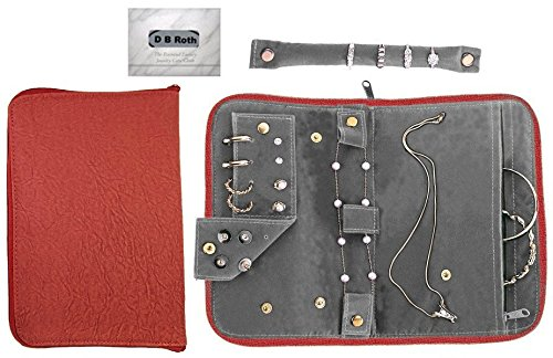 anti-tarnish-jewelry-organizer-red-with-removable-ring-stub-earring-pad-inner-bracelet-pouch-secure-