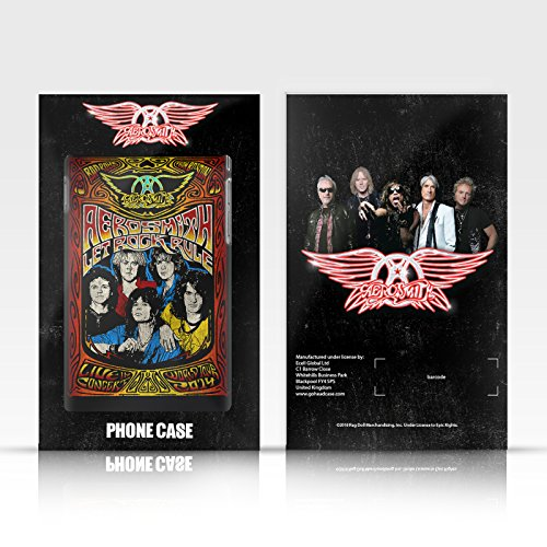 Ufficiale Aerosmith Loud Proud Arte Da Poster 3 Argento Cover Contorno con Bumper in Alluminio per Apple iPhone 6 Plus / 6s Plus Permanent Vacation Tour