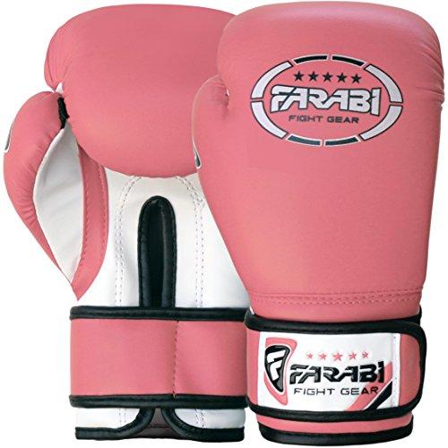 Gants de boxe Farabi uniques, MMA, Muay Thai et gants Punching Bag formation 6OZ, Rose Abbildung 2