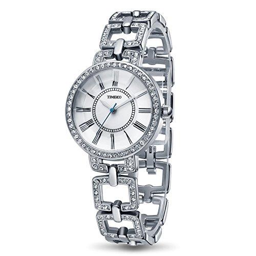 Time100 w50220l.01a w500 - orologio da polso da donna colore acciaio