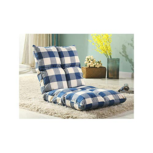 r Faule Couch Tatami Single Sofa Stuhl Klappbett Kleinen Sofa Stuhl Schwimmenden Fenster Stuhl Stock Stuhl,Blue ()