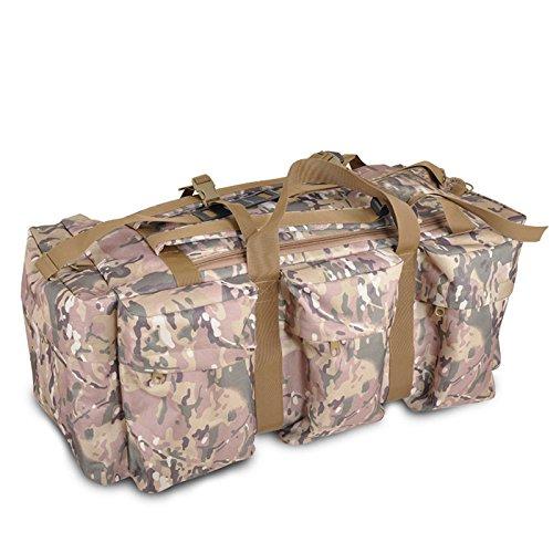 BM Borse a tracolla uomo borsa capiente outdoor trekking zaino outdoor , desert camouflage cp camouflage
