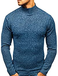 Amazon.fr   pull col roule pour homme   Vêtements 9a5469511d08