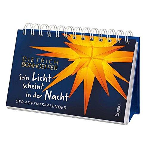 Aufsteller »Sein Licht scheint in der Nacht«: Der Adventskalender -