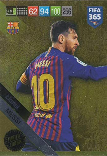 PANINI ADRENALYN XL FIFA 365 2019 UPDATE Lionel Messi Limited Edition Card - FC Barcelona -