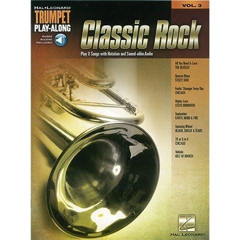 Classic Rock: Trumpet Play-Along Volume 3 (Book/Online Audio) - Sheet Music, Downloads