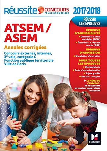 Réussite Concours ATSEM/ASEM - Sujets inédits & annales corrigées - Concours 2017-2018 Nº84