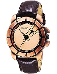 Frosino FRAC061806 Analog Frosting Bronze dial Watch for Men