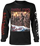 Plastic Head Cannibal Corpse 'Tomb of The Mutilated' Long Sleeve Shirt Black