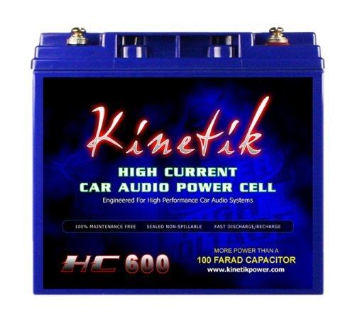 Kinetik HC600Blu Serie 600-Watt 12High Current AGM Auto Audio Power Zelle Akku -