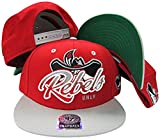 UNLV Nevada Las Vegas Running Rebels Red/Grey Two Tone Plastic Snapback Adjustable Plastic Snap Back Hat/Cap