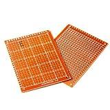 20pcs Soldadura Terminado PCB Prototipo Para Placas Circuito DIY 5x7cm EL PAN