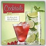 Cocktails mit Rezepten 2017-18-Monatskalender: Original BrownTrout-Kalender [Mehrsprachig] [Kalender] (Wall-Kalender)