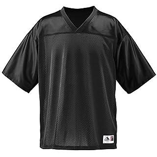Augusta Sportswear Unisex Stadium Replica Jersey, Black, X-Large