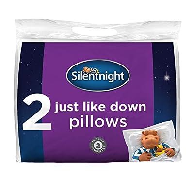 Silentnight Just Like Down Premium Pillow Pair