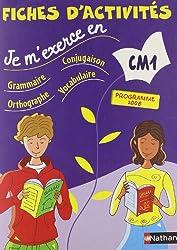 JE M EXERCE EN FICHES ACTI CM1