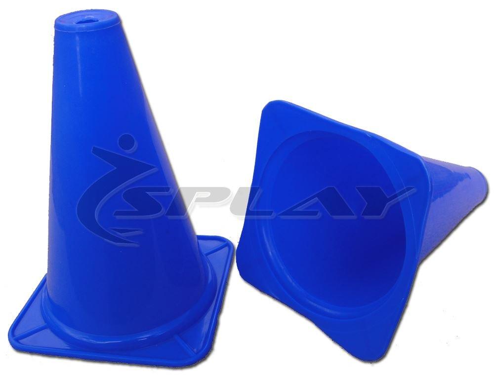 Entrenamiento tráfico cono–12inch (azul) X 4