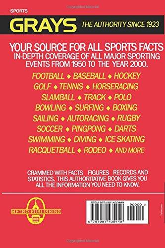 Zoom IMG-1 grays sports almanac back to