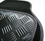 Quality Carpet Car Mat Set For Volkswagen VW Golf Mk7 2013- Present Tailored Black Car Mats