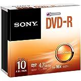 Sony 10DPW47SP–Blank DVDs (DVD + RW, 4x)