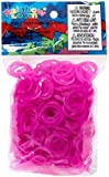 Official Rainbow Loom 600 Rose Jelly Refill Bands w/ C Clips
