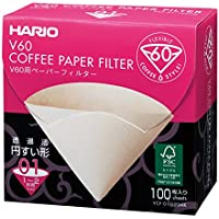 Hario 100-Piece Misarashi Paper Filter for 01 Dripper