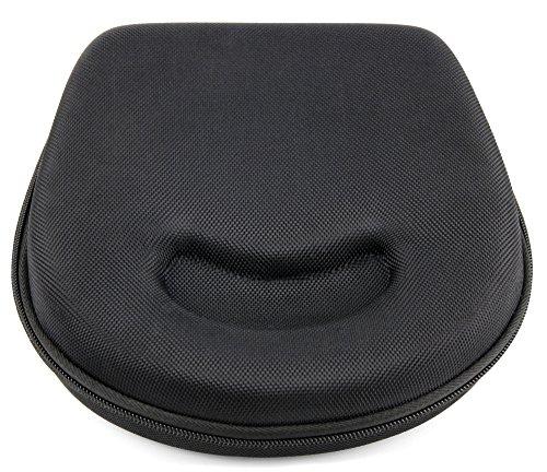 Schwarze Tasche | Etui | Hard Case | Schutzhülle, robustes Ethylenvinylacetat (EVA Material), mit Klettverschluss und Zusatzfach für AKG K451 | K830BT High-End Wireless Bluetooth Headset | K81DJ DJ | Y45bt | Y30U | Y40 | Y50BT | N60 NC Kopfhörer