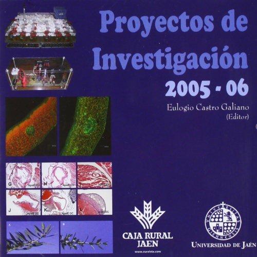 Proyectos de investigación 2005 - 06 (Fuera de Colección)