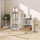 BOBE SHOP- Modern Fashion Wohnzimmer Schlafzimmer Lagerschränke Einfache Trapez- Bodenregale Bücherregal ( größe : Package A )