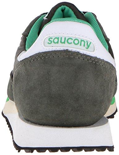 Saucony Sneakers DXN Trainer aus Veloursleder in Grau Verde - bianco