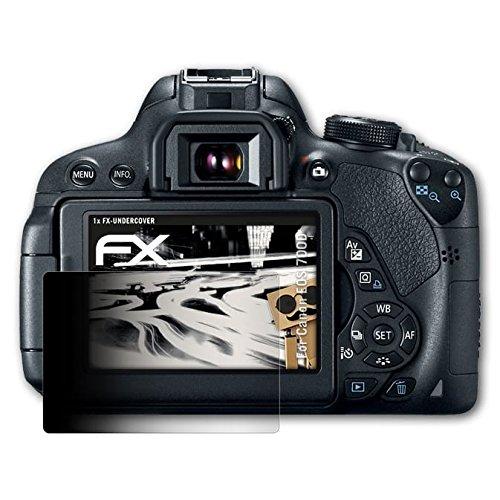 atFoliX Blickschutzfilter für Canon EOS 700D / Rebel T5i Blickschutzfolie, 4-Wege Sichtschutz FX Schutzfolie