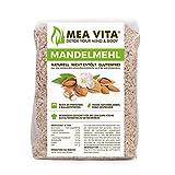 MeaVita Mandelmehl, naturell, Premium Qualität, im Beutel, 1er Pack (1 x 500 g)