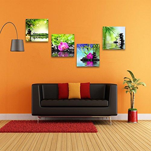 Zen arte lienzo impresiones Spa pared decoración